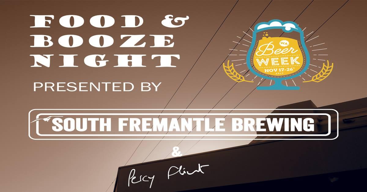 South Fremantle Brewing Percy Flint Degustation Dinner